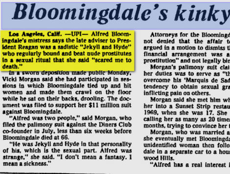 Prostitutes Bloomingdale